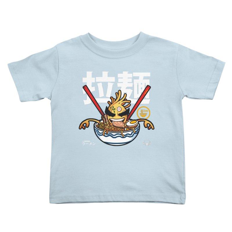 Ramen Kids Toddler T-Shirt by mankeeboi's Artist Shop