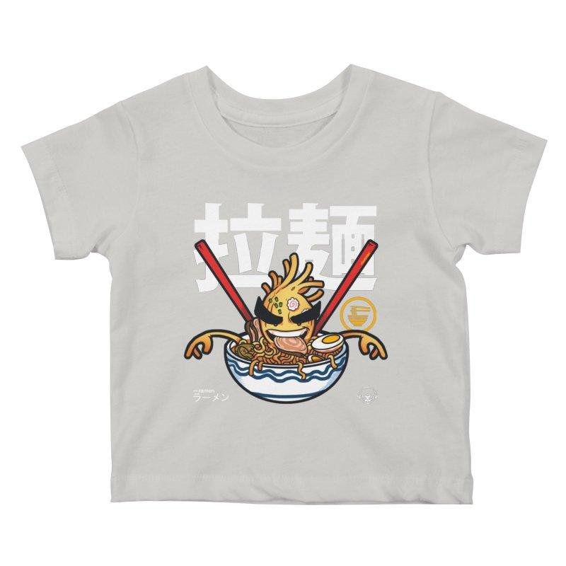 Ramen Kids Baby T-Shirt by mankeeboi's Artist Shop