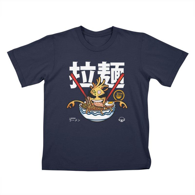 Ramen Kids T-Shirt by mankeeboi's Artist Shop