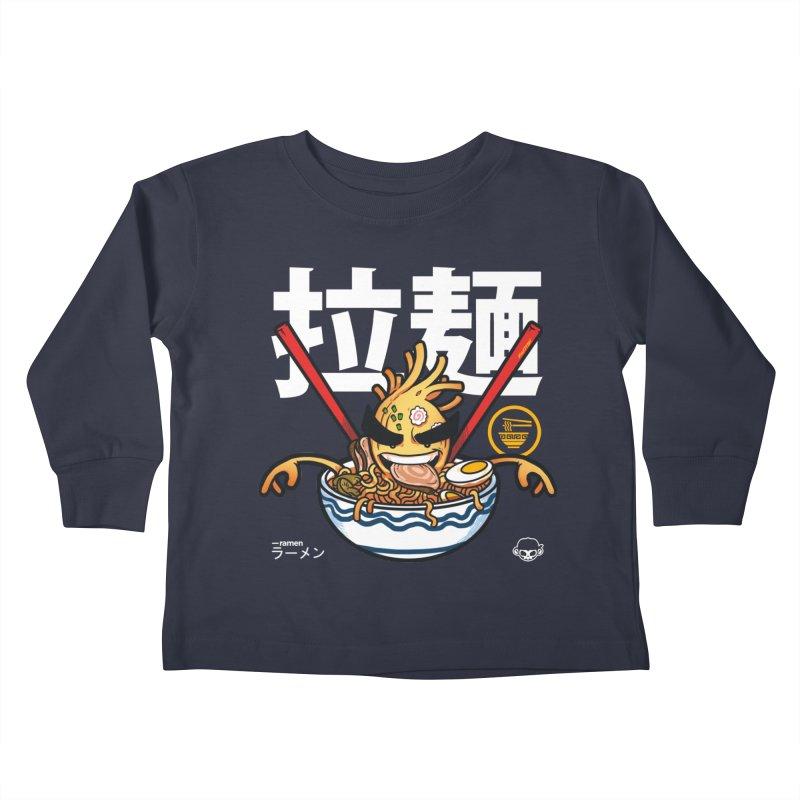 Ramen Kids Toddler Longsleeve T-Shirt by mankeeboi's Artist Shop