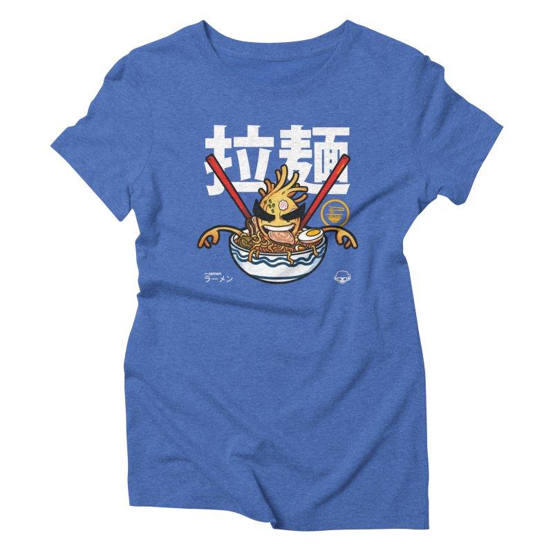 Ramen Women's Triblend T-Shirt by mankeeboi's Artist Shop