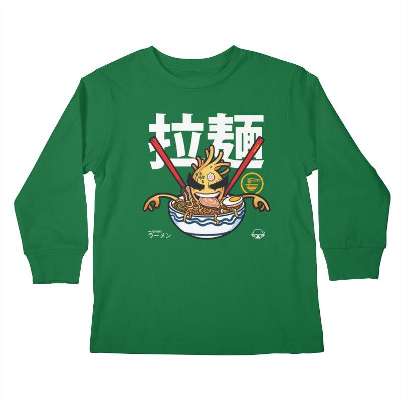 Ramen Kids Longsleeve T-Shirt by mankeeboi's Artist Shop