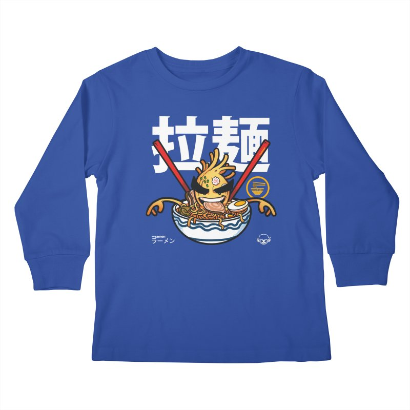 Ramen Kids Longsleeve T-Shirt by mankeeboi's Artist Shop