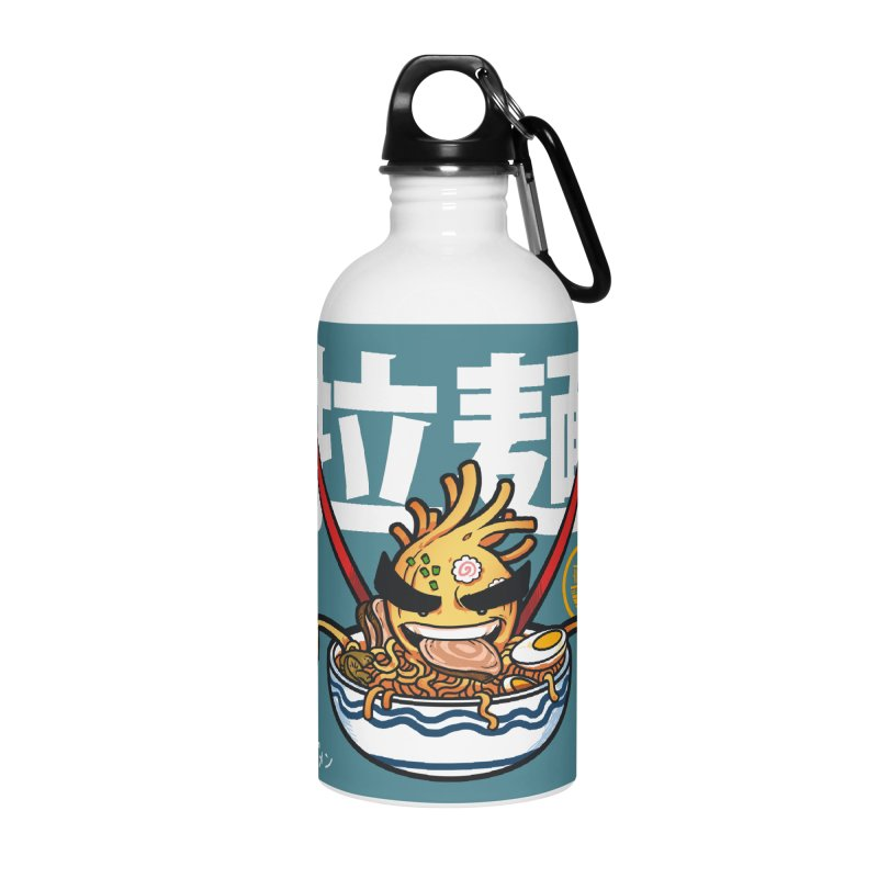 Ramen Accessories Water Bottle by mankeeboi's Artist Shop