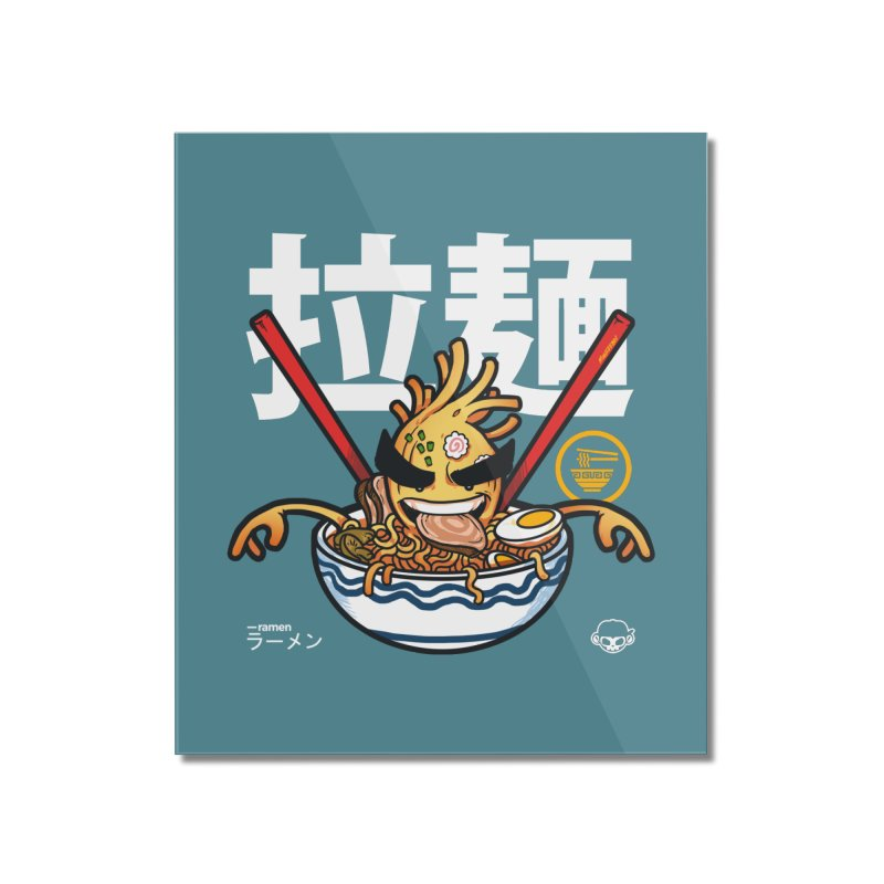 Ramen Home Mounted Acrylic Print by mankeeboi's Artist Shop