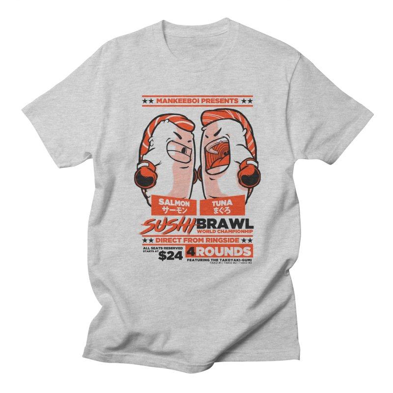 Sushi Brawl Women's Unisex T-Shirt by mankeeboi's Artist Shop