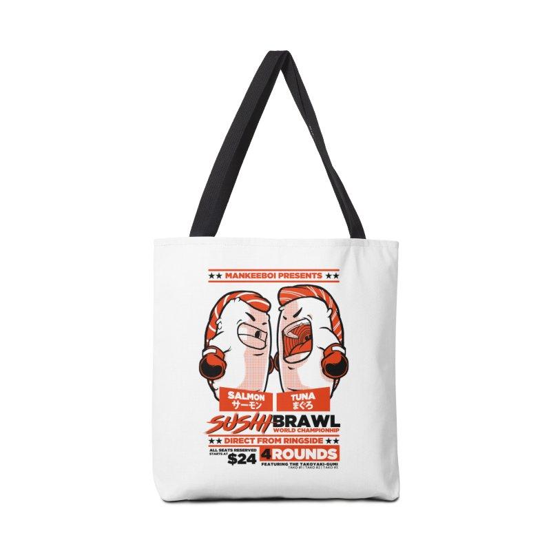 Sushi Brawl Accessories Bag by mankeeboi's Artist Shop