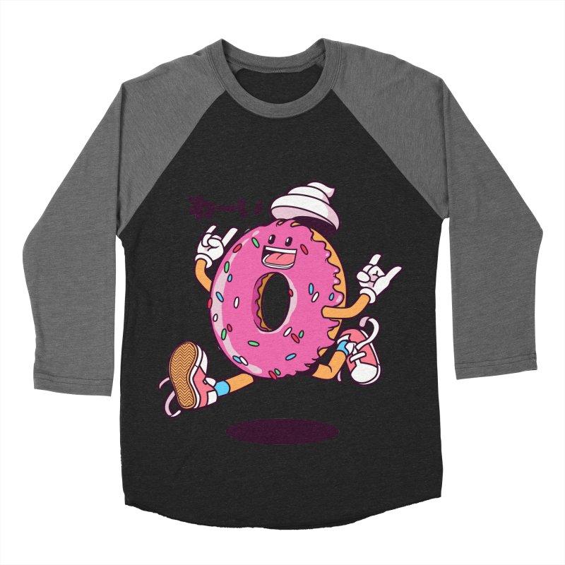 Jumping Donut Men's  by mankeeboi's Artist Shop