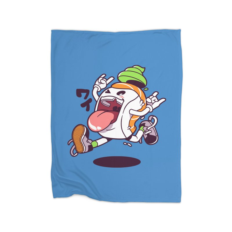 Jumping Salmon Sushi Home  by mankeeboi's Artist Shop