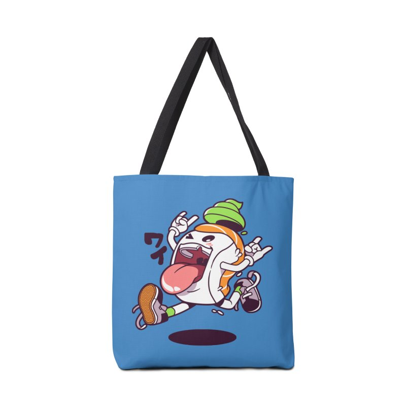 Jumping Salmon Sushi Accessories Bag by mankeeboi's Artist Shop