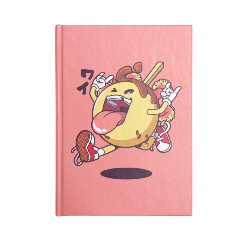 Takoyaki Jump Accessories Notebook by mankeeboi's Artist Shop