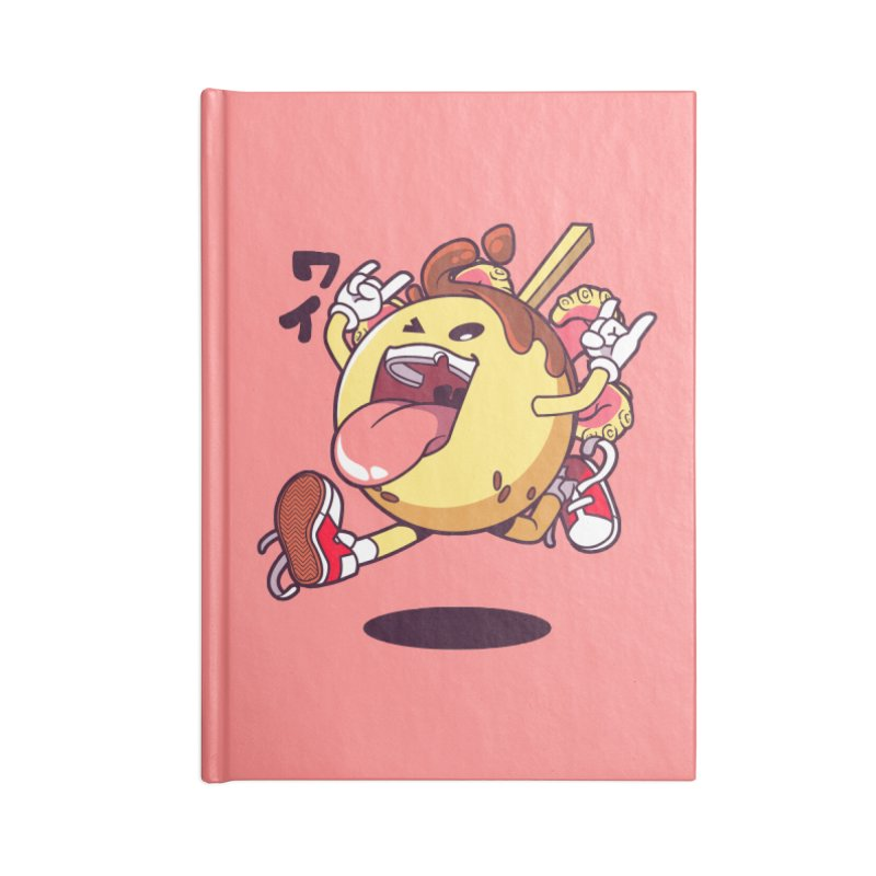 Takoyaki Jump Accessories Notebook by mankeeboi's Artist Shop