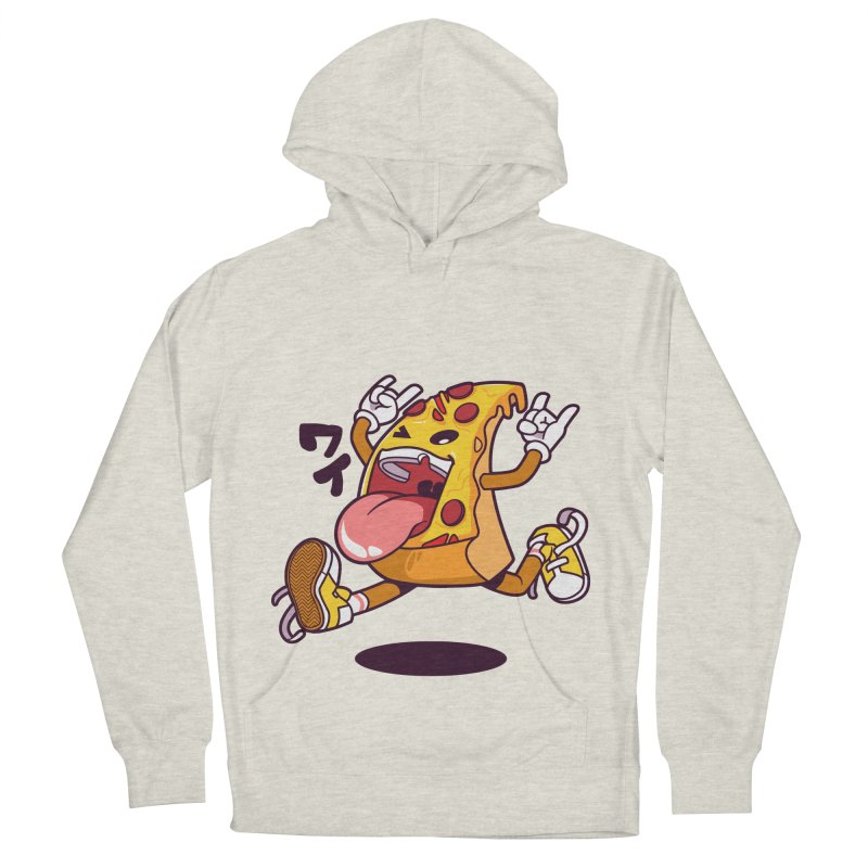 Pizza Jump Women's Pullover Hoody by mankeeboi's Artist Shop