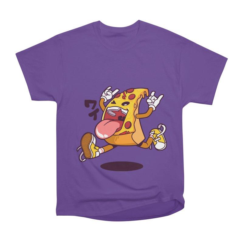 Pizza Jump Women's Classic Unisex T-Shirt by mankeeboi's Artist Shop