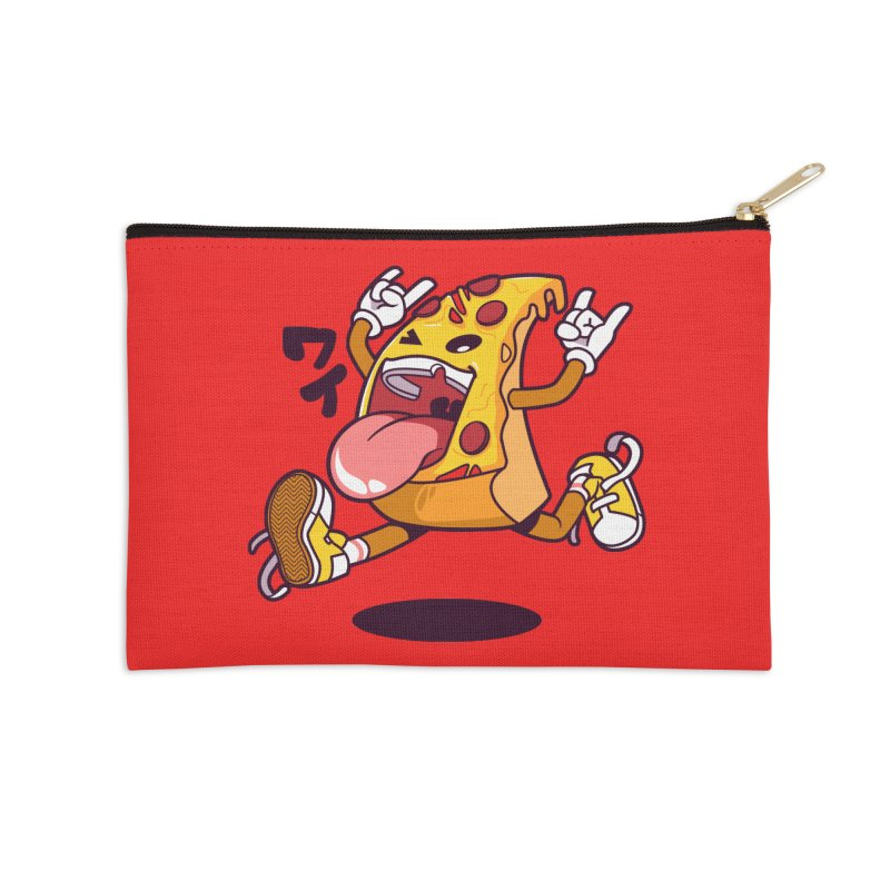 Pizza Jump Accessories Zip Pouch by mankeeboi's Artist Shop