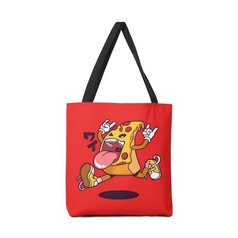 Pizza Jump Accessories Bag by mankeeboi's Artist Shop