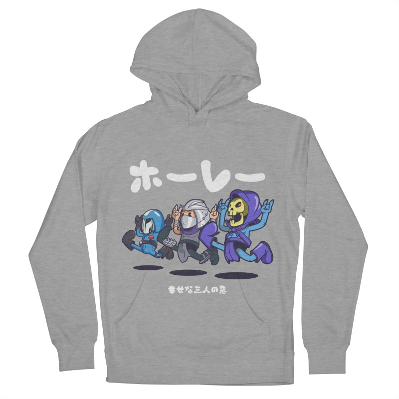 Happy 3 Fiends Women's French Terry Pullover Hoody by mankeeboi's Artist Shop