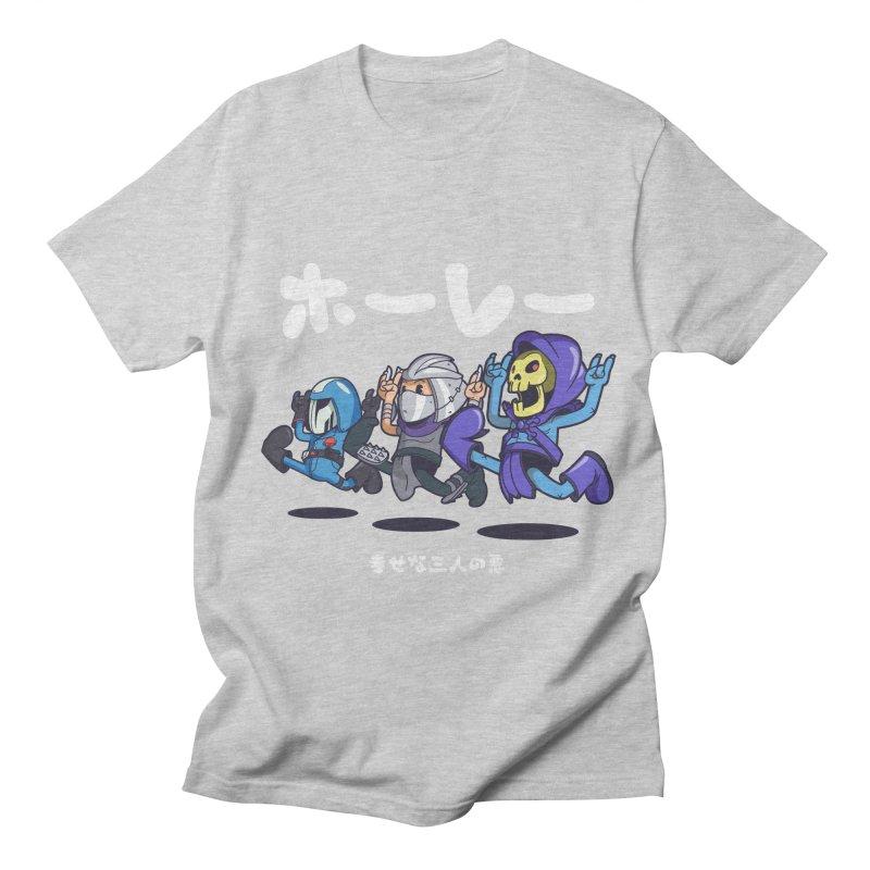 Happy 3 Fiends Women's Unisex T-Shirt by mankeeboi's Artist Shop