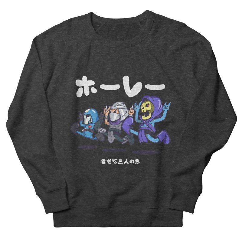 Happy 3 Fiends Women's French Terry Sweatshirt by mankeeboi's Artist Shop