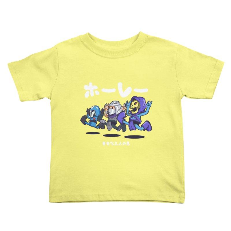 Happy 3 Fiends Kids  by mankeeboi's Artist Shop