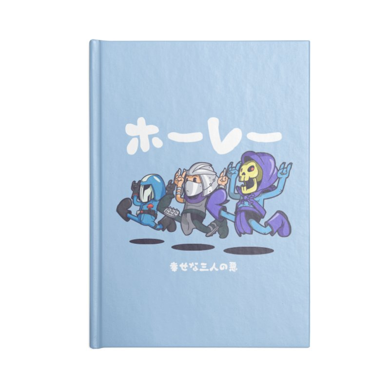 Happy 3 Fiends Accessories Notebook by mankeeboi's Artist Shop