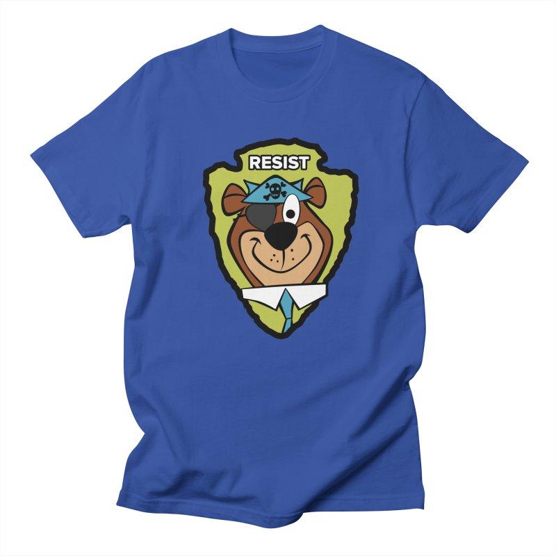 Rogue-E Bear Women's Unisex T-Shirt by Manly Art's Tee Shop