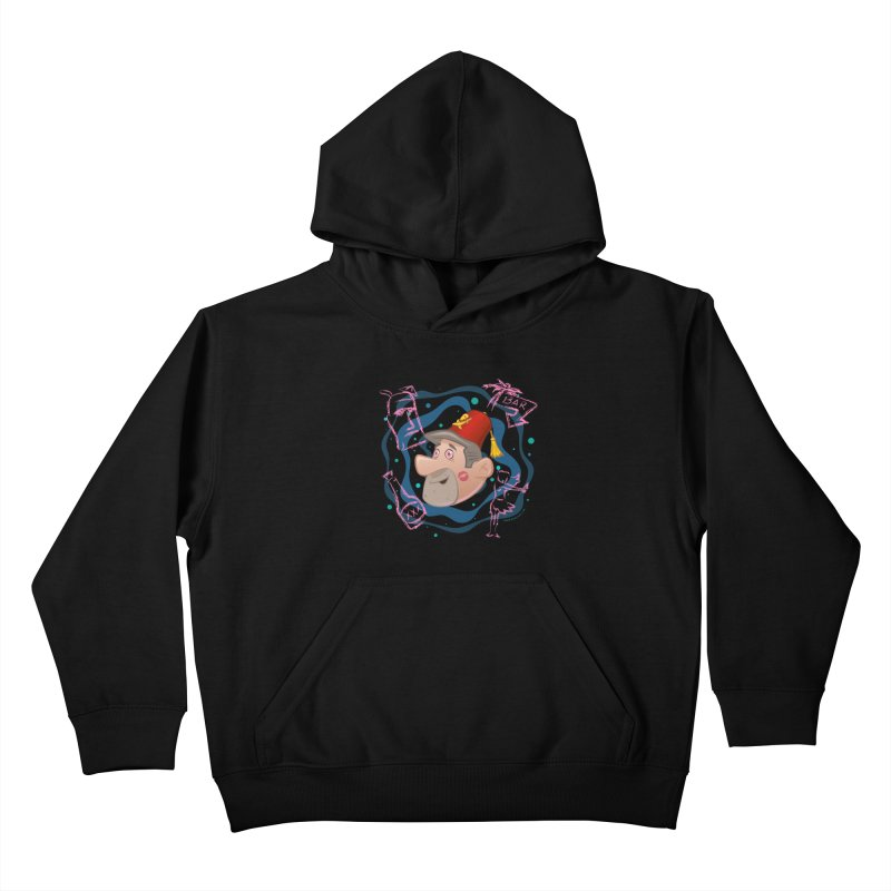 Night of the Tiki Kids Pullover Hoody by Manly Art's Tee Shop