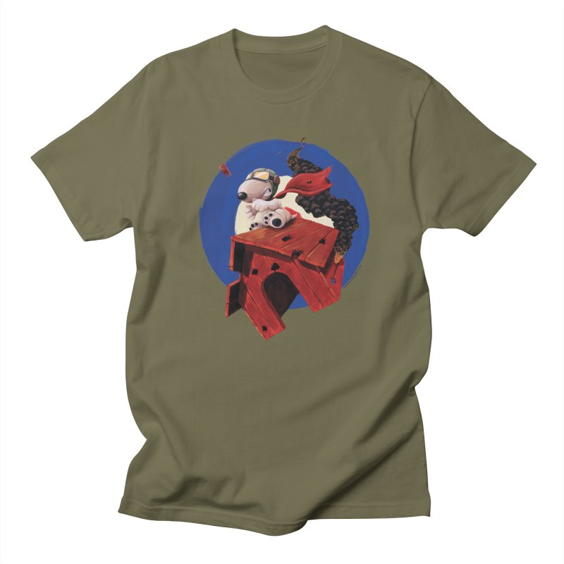 Curse You Red Baron! Men's T-Shirt by Manly Art's Tee Shop