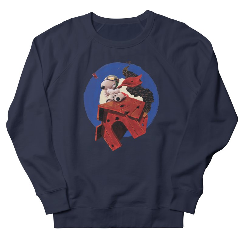 Curse You Red Baron! Women's Sweatshirt by Manly Art's Tee Shop