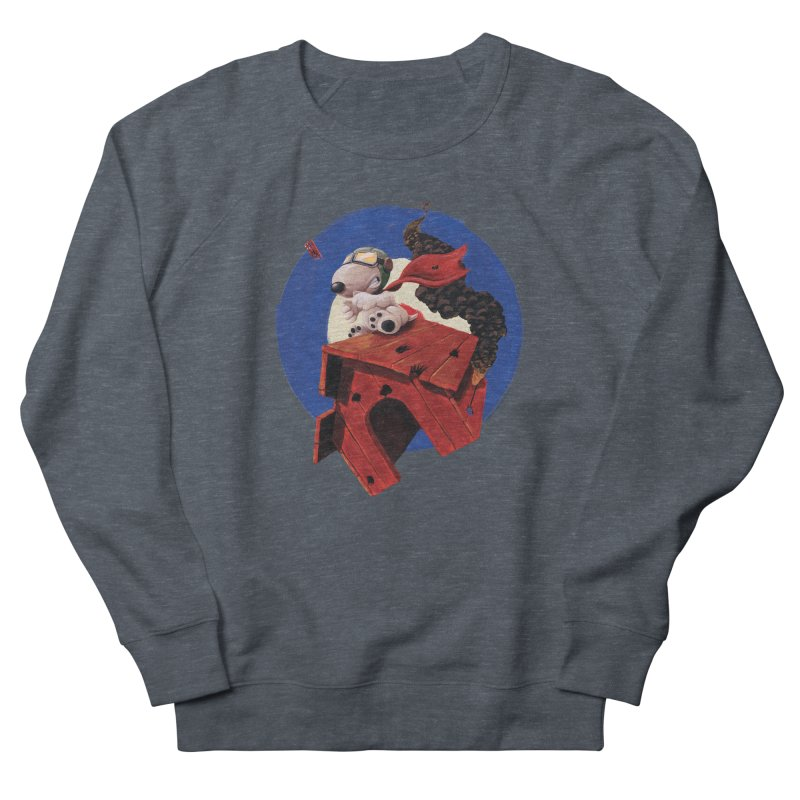 Curse You Red Baron! Men's Sweatshirt by Manly Art's Tee Shop