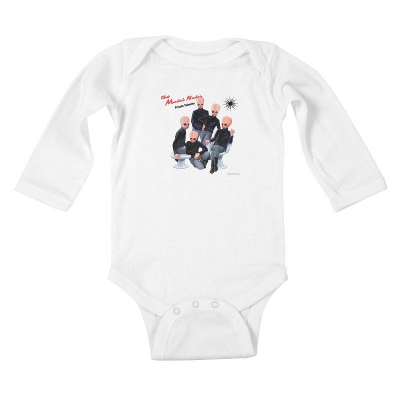Private Tatooine Kids Baby Longsleeve Bodysuit by Manly Art's Tee Shop