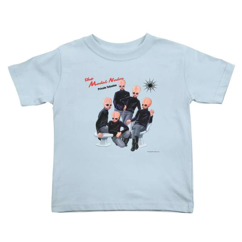 Private Tatooine Kids Toddler T-Shirt by Manly Art's Tee Shop