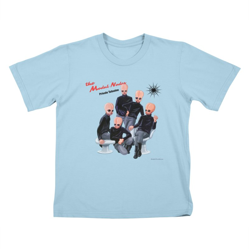 Private Tatooine Kids T-Shirt by Manly Art's Tee Shop
