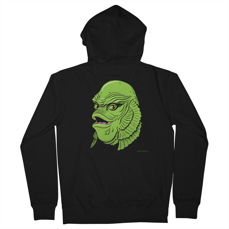 Happy Creature Men's Zip-Up Hoody by Manly Art's Tee Shop
