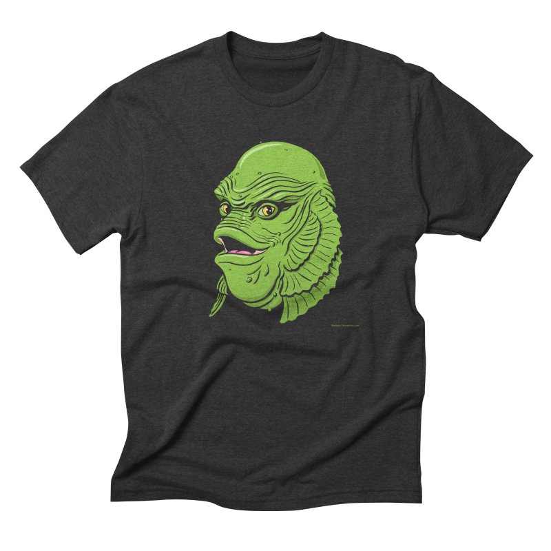 Happy Creature Men's Triblend T-Shirt by Manly Art's Tee Shop