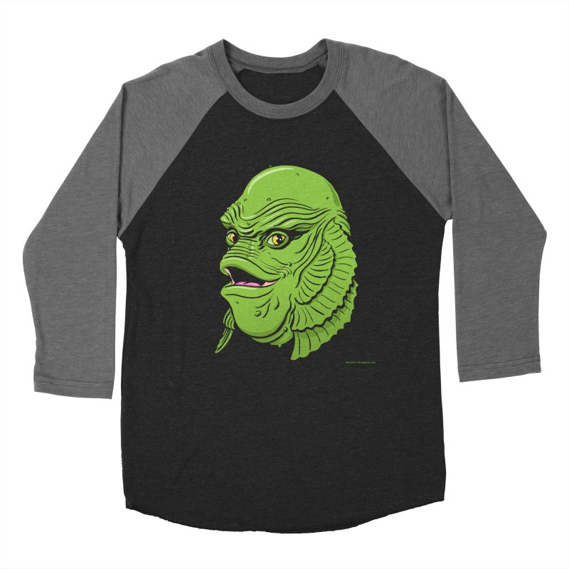 Happy Creature Women's Baseball Triblend T-Shirt by Manly Art's Tee Shop