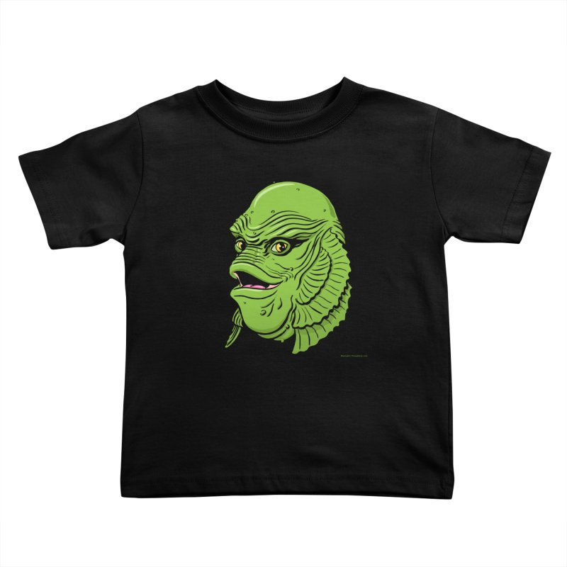 Happy Creature Kids Toddler T-Shirt by Manly Art's Tee Shop