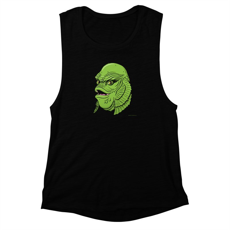 Happy Creature Women's Muscle Tank by Manly Art's Tee Shop
