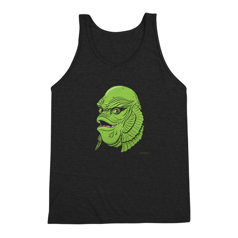 Happy Creature Men's Triblend Tank by Manly Art's Tee Shop