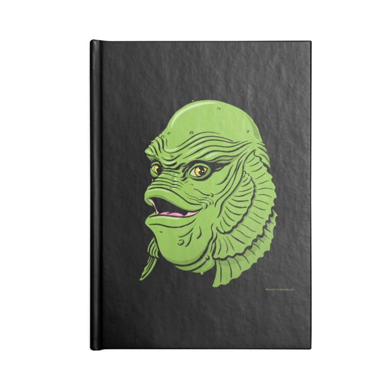Happy Creature Accessories Notebook by Manly Art's Tee Shop