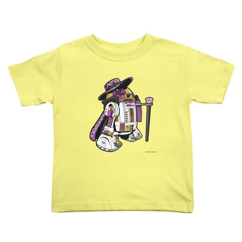 Pimp2-D2 Kids Toddler T-Shirt by Manly Art's Tee Shop