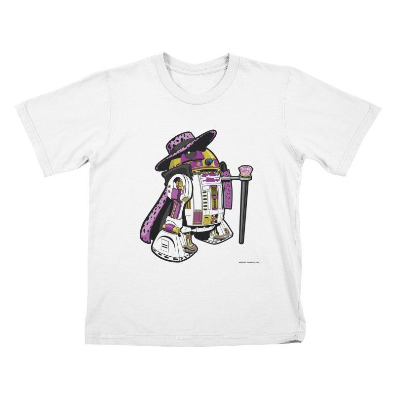Pimp2-D2 Kids T-Shirt by Manly Art's Tee Shop