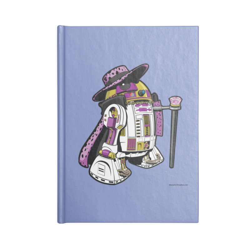 Pimp2-D2 Accessories Notebook by Manly Art's Tee Shop