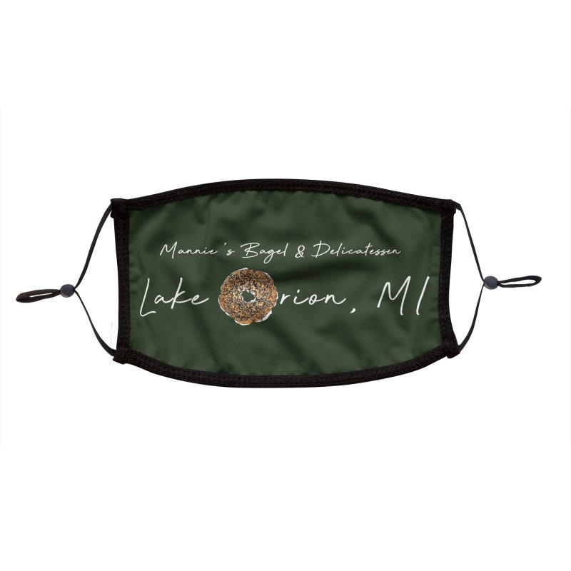 LAKE ORION is EVERYTHING Accessories Face Mask by Mannie's Bagel & Delicatessen Merch Shop