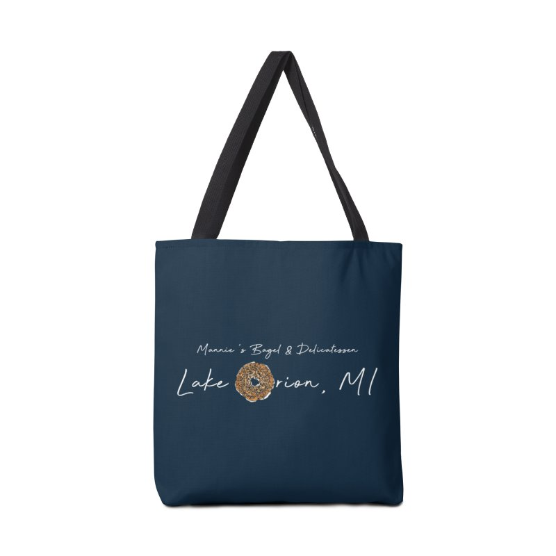 LAKE ORION is EVERYTHING Accessories Bag by Mannie's Bagel & Delicatessen Merch Shop