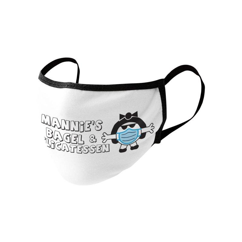 Mask Up Mannie's Accessories Face Mask by Mannie's Bagel & Delicatessen Merch Shop