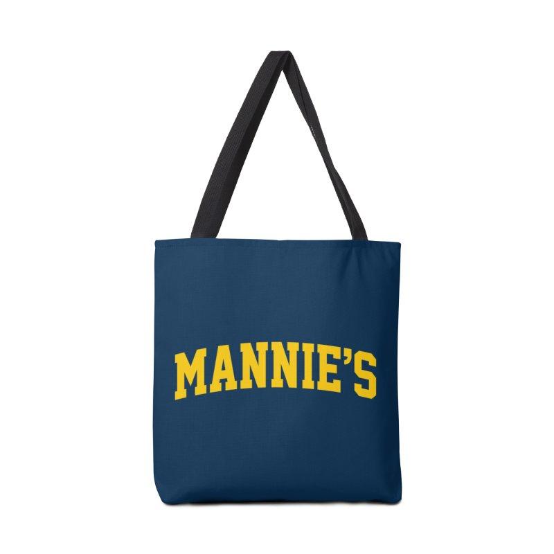 U of Mannie's Accessories Bag by Mannie's Bagel & Delicatessen Merch Shop