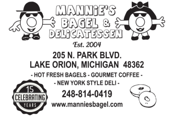 Mannie's Bagel & Delicatessen Merch Shop Logo