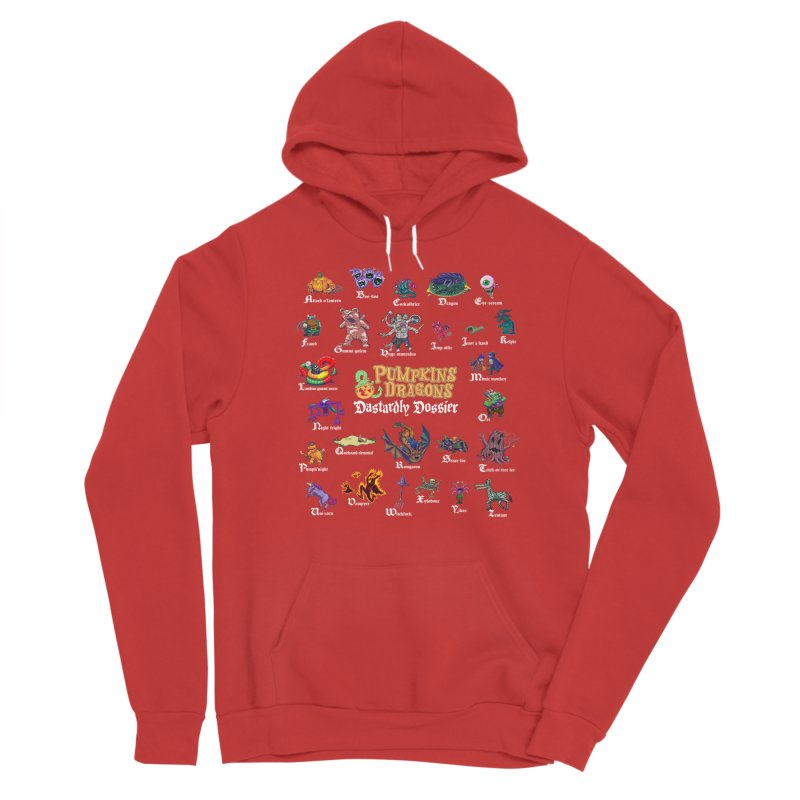 Dastardly Dossier A-Z Women's Pullover Hoody by Manning Krull's Artist Shop
