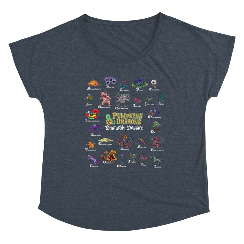 Dastardly Dossier A-Z Women's Scoop Neck by Manning Krull's Artist Shop